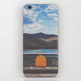 Life Ring On Fontana Damn • Appalachian Trail iPhone Skin