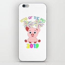 Year Of The Pig Chinese New Year Astrology Zodiac iPhone Skin