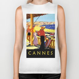 Glorious Days of Cannes Biker Tank