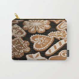 Holiday Iced Cookies Carry-All Pouch