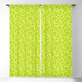 You're sub-lime! (Seamless lime pattern) Blackout Curtain