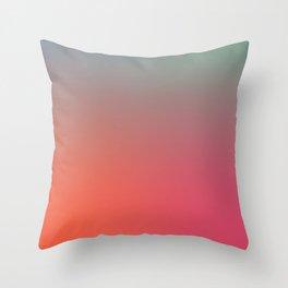 STRINGS OF LIGHT - Minimal Plain Soft Mood Color Blend Prints Throw Pillow