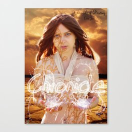 Water Chronicle Canvas Print