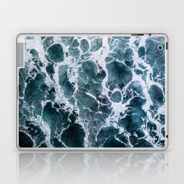 Minimalistic Veins in a Wave  - Seascape Photography Laptop & iPad Skin