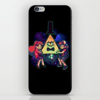 gravity falls iPhone & iPod Skins featuring Gravity Falls by Erika Draw