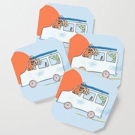 Happy Little Surf Van Coaster