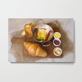 Beautiful Food by Khaled Mohamed Metal Print