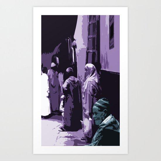 Arab World Art Print