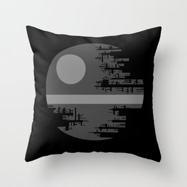 Death Star II Throw Pillow