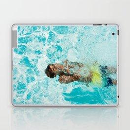Underwater swimming Laptop & iPad Skin
