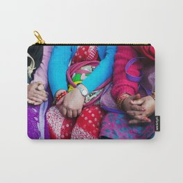 SACRED GLOBAL HANDS NEPAL Carry-All Pouch
