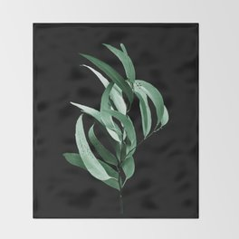 Eucalyptus III - night Throw Blanket