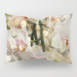 Painted Orchids Pillow Sham