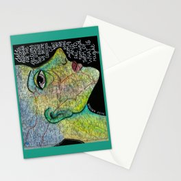 Wrong and right Stationery Cards