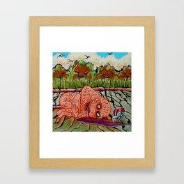 Spilt Framed Art Print