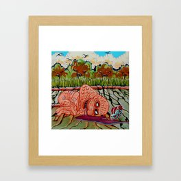 Spilt Framed Art Print