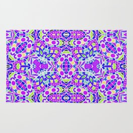Arabesque kaleidoscopic Mosaic G514 Rug