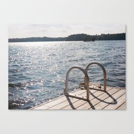 Small Waves Canvas Print