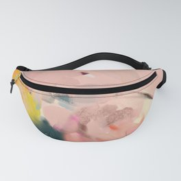 abstract floral inspiration Fanny Pack