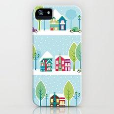 Ski house iPhone (5, 5s) Slim Case