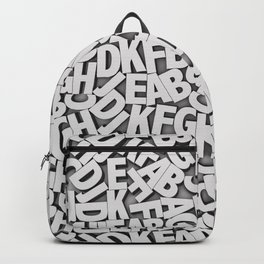Learn the alfabet Backpack