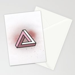 Impossible Triangle Stationery Cards
