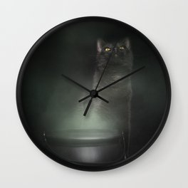 Jeffrey and His Cauldron Wall Clock