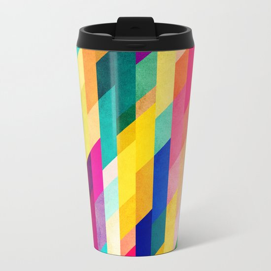 Prism Metal Travel Mug