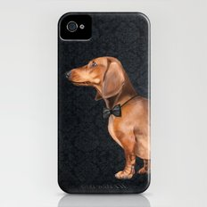 Elegant dachshund. Slim Case iPhone (4, 4s)