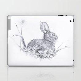 Bunny in the Field Laptop & iPad Skin