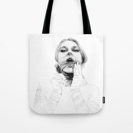 A touch of silk Tote Bag