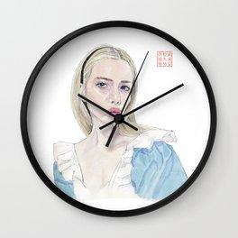 Alice in Selfie-land Wall Clock