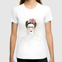 frida kahlo T-shirts featuring Frida Kahlo  by Marttala