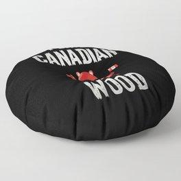 I like Canadian Wood Beaver Canada Montreal Floor Pillow