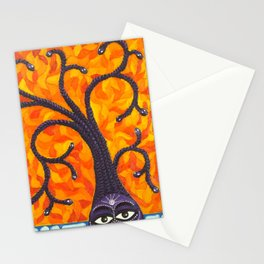Medusa and the Tree of Life Stationery Cards
