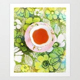 Fancy A Cuppa? Art Print