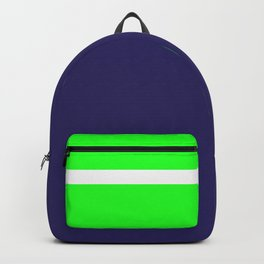 Team Colors...... 6 Lime green /navy Backpack