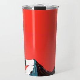 sae-orange Travel Mug