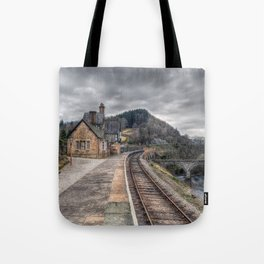 Berwyn Railway Station Tote Bag