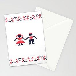 Romanian folk art Stationery Cards