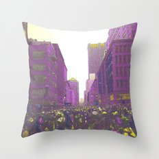 r e a d y s e t Throw Pillow