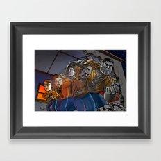 Enter The Hulk! Framed Art Print