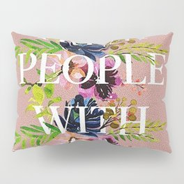 Treat People With Kindness graphic artwork / Harry Styles Pillow Sham