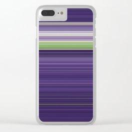 Sitting Figure - Swipe Clear iPhone Case