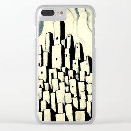 Metronecropolis III Clear iPhone Case