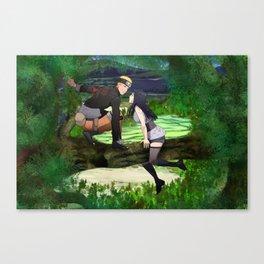 Naruhina Hide and seek Canvas Print
