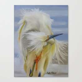 The Itch Canvas Print