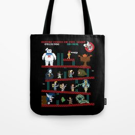 The Real Donkey Puft Tote Bag