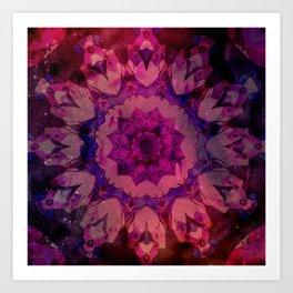 Twilight's Tulip Art Print
