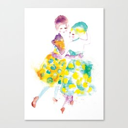 Rainbow Fashion Canvas Print